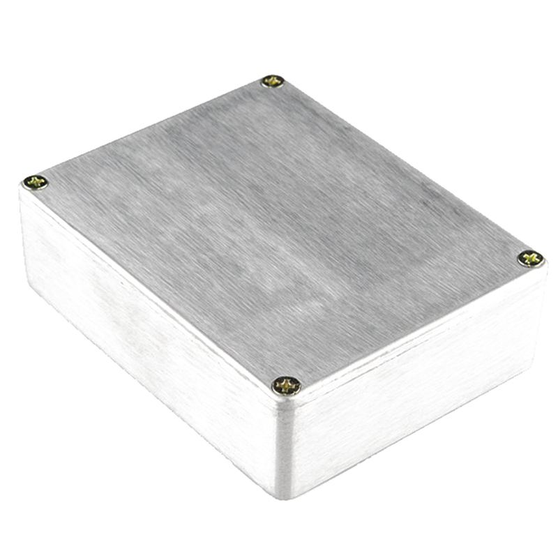3dfe6a9c3c 1590BB Aluminum Metal Stomp Box Case Enclosure Guitar Effect Pedal Pack of  K7G9. The finish is clean and smooth. Each enclosure comes with 4 screws