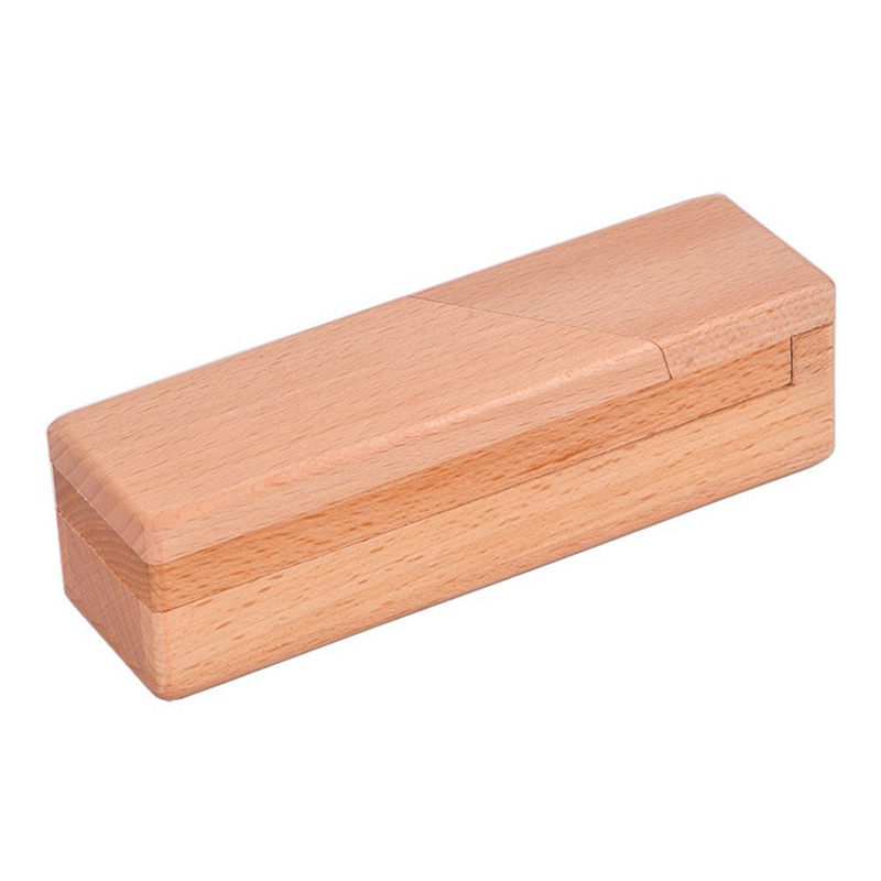 Details About Wooden Brain Teaser Secret Opening Puzzle Box Magic Mysterious Box Gift Box D8s1