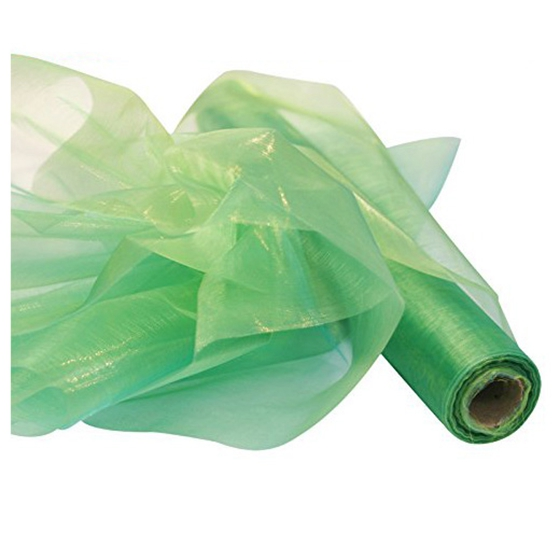 26M-X-29CM-Organza-Roll-Sash-Fabric-Chair-Cover-Bows-Table-Runner-Sashes-Swags-9