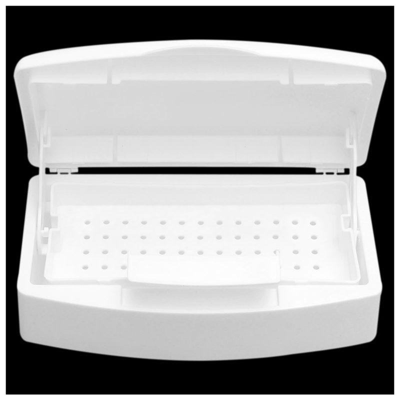 New Sterilizer Tray Box Sterilizing Clean Nail Art Salon Manicure ...