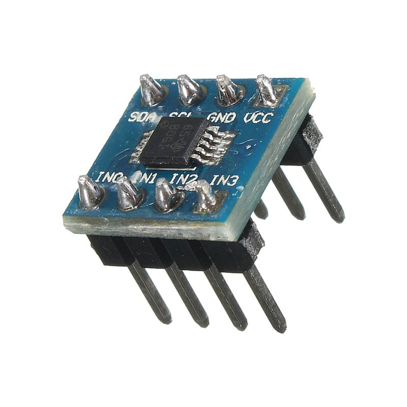 T8 Mini Ads1115 Module 4 Channel 16 Bit I2c ADC Pro Gain Amplifier for  Arduino B