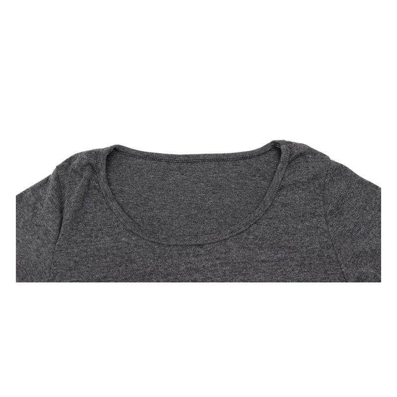 1X-Mini-Dress-Short-Sleeve-One-piece-Slim-Dress-light-Gray-L1W2