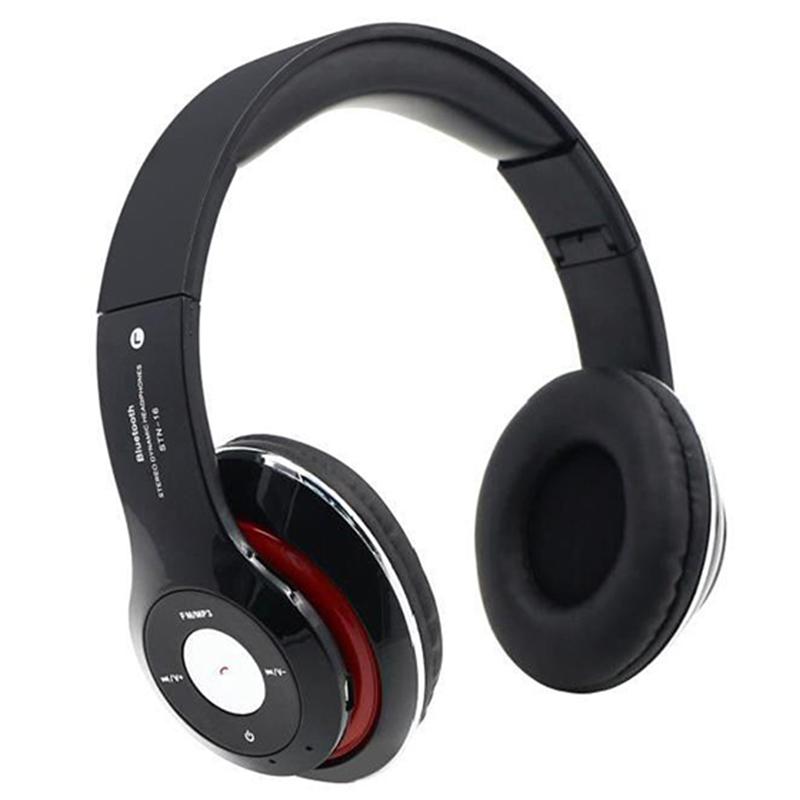 4 En 1 Multifonction Casque Audio Bluetooth Sans Fil Stereo