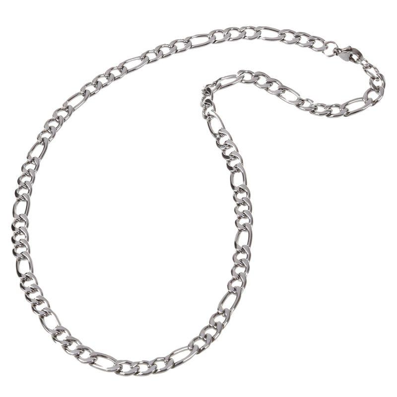 nouvelle collection 40481 52227 Détails sur Chaine de bijoux pour Homme et Femme, acier inox, chaine de  Figaro, collier D1C9