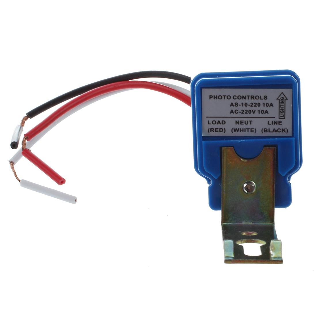 10A AC 220V Lichtschalter Schalter Ein/Ausschalter Lichtsteuerung ...