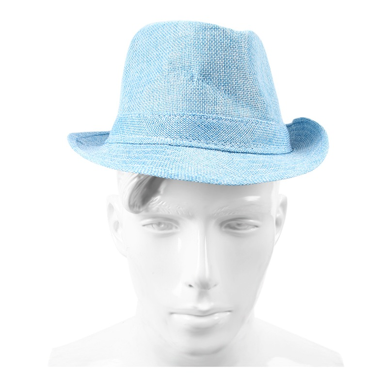 Men-Women-Unisex-Summer-Beach-Hat-Sun-Jazz-Panama-Gangster-Cap-Trilby-Fedora-BS6