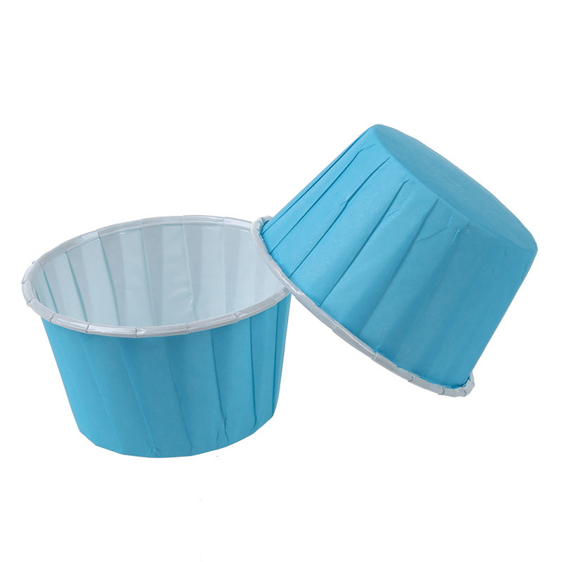 50X-Etui-A-Gateaux-De-Tasse-De-Cuisson-En-Papier-Dessert-De-Muffin-De-Doubl-K7C3 miniature 4