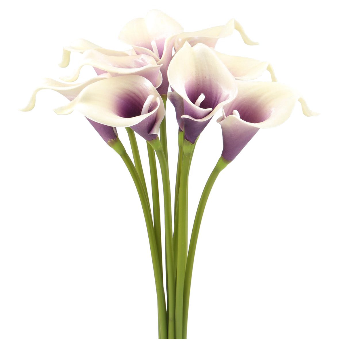 Calla lily bridal wedding bouquet head real touch flower bouquets 10 picture 2 of 5 izmirmasajfo