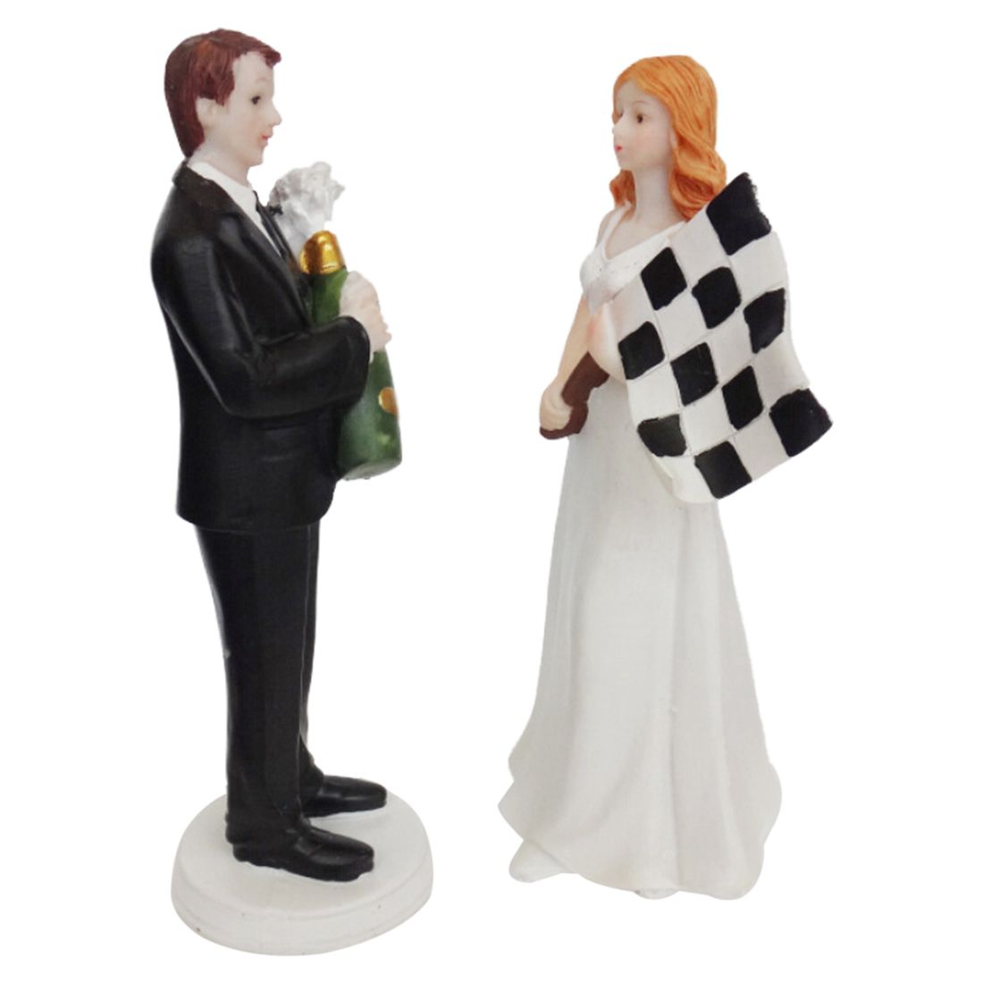 racing wedding cake toppers resin f1 car racing fan and groom wedding cake 18956