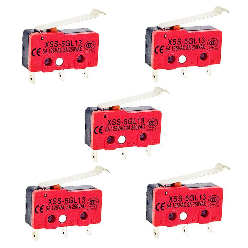 Details About 5pcs Simulated Roller Lever Spdt Ac Miniature Micro Switch J9b8 Actuator Microswitch 5a Ebay Note Light Shooting And Different Displays May Cause The Color Of Item In Picture A Little From