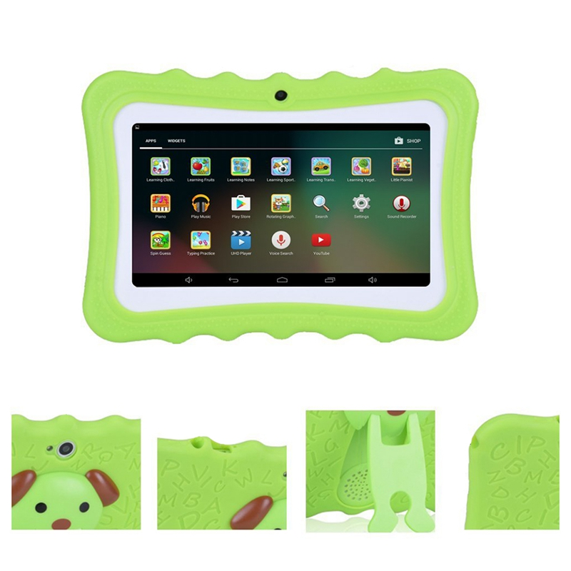 Details about Upgrade Best Tablet For Kids, 7Inch Hd Display With Kid-Proof  Silicone Case M3Q4
