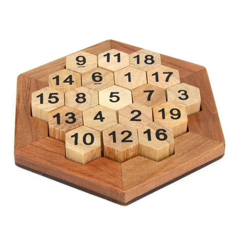 Smart Games Wooden Brainteaser for Young Children Puzzles