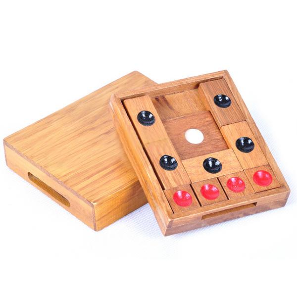 Classic-Puzzle-Rompicapo-In-Legno-Puzzle-Di-Fuga-Puzzle-Gioco-Educativo-per-N7S1