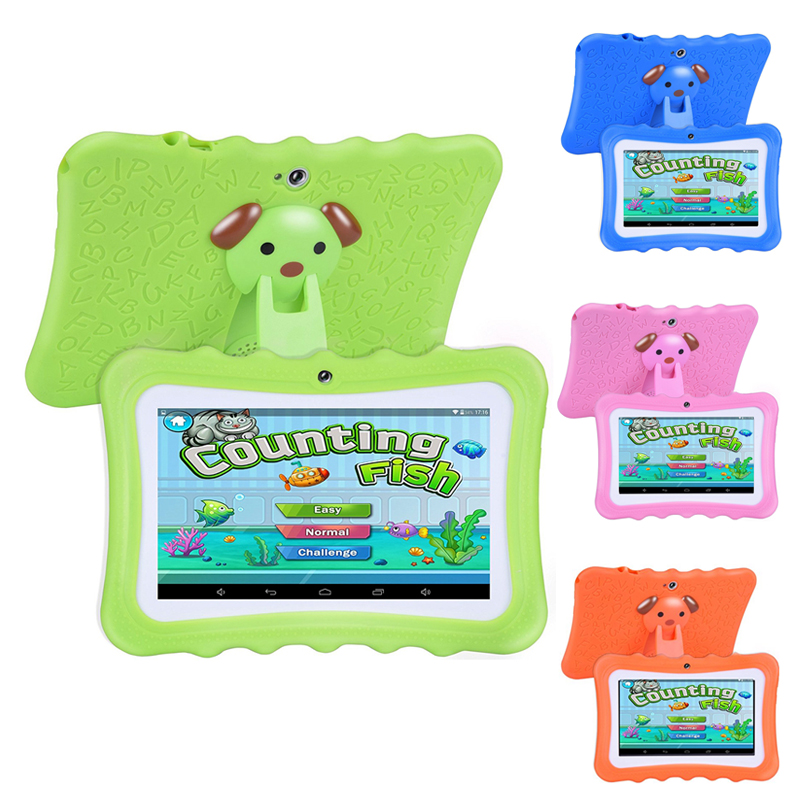 Upgrade Best Tablet for Kids, 7inch HD Display with Kid-proof