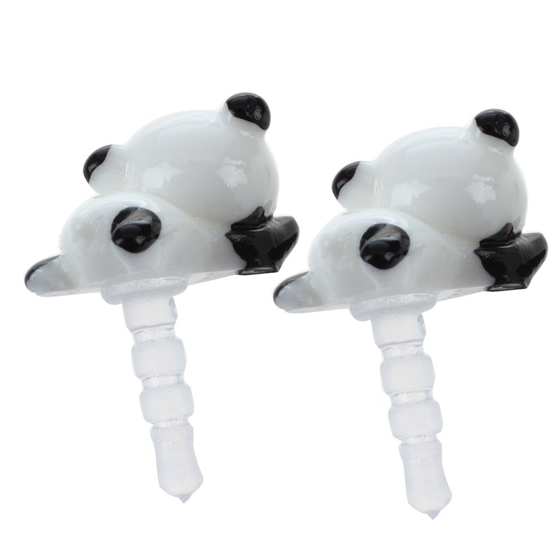 2pcs-White-and-Black-Panda-Head-3-5mm-Earphone-Anti-Dust-Plug-Cap-Stopper-for-iP
