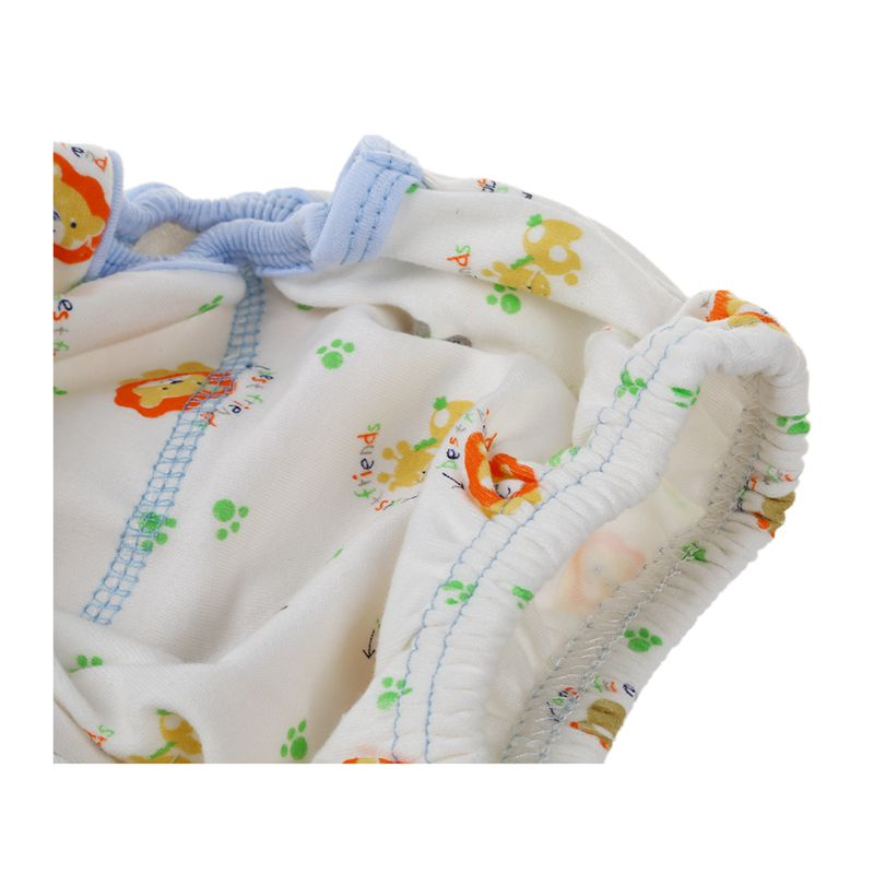 2X Baby Windel Stoffwindel ueberhose Windelhose Verstellbar Trainingshoesch U5F6
