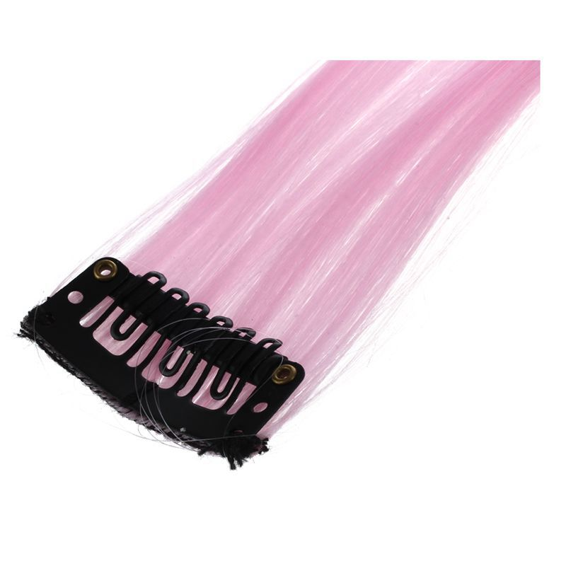 1-PC-Cheveux-d-039-extension-droite-longues-colore-pour-Femmes-Cheveux-de-plu-M7H8 miniature 5