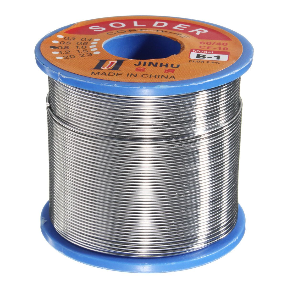JINHU 500g 60/40 Tin lead Solder Wire Rosin Core Soldering 2% Flux ...