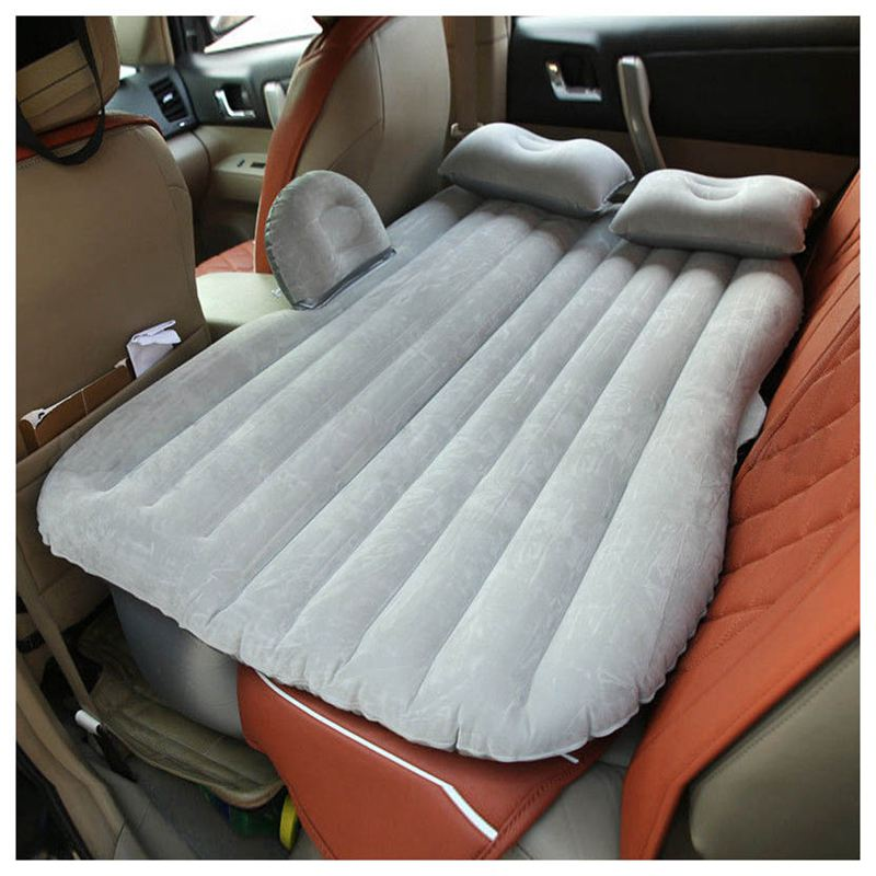 Inflatable-Car-Bed-Back-Seat-Mattress-Air-Airbed-Travel-Rest-Sleep-Camping-gr5G9