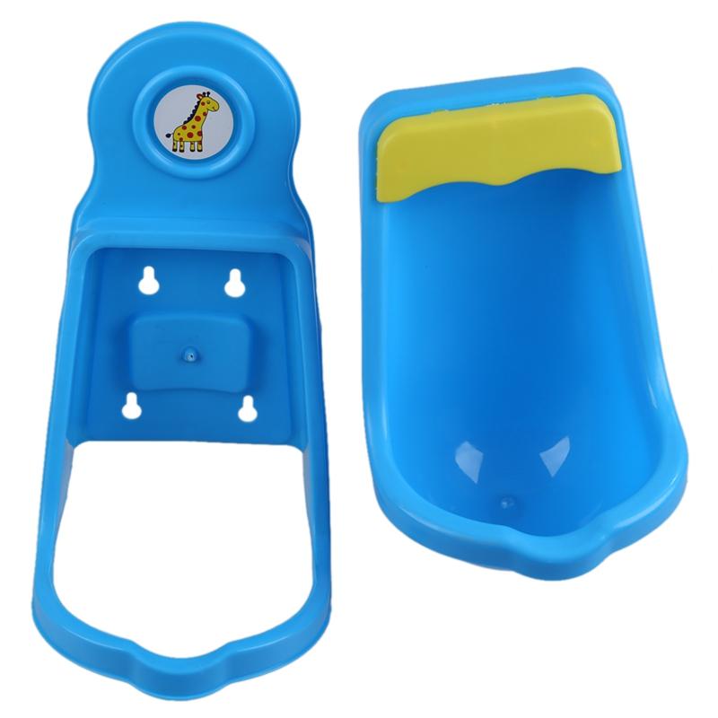 kinder toepfchen toilet training kids urinal kunststoff fuer jungen pee mit g6j1 ebay. Black Bedroom Furniture Sets. Home Design Ideas
