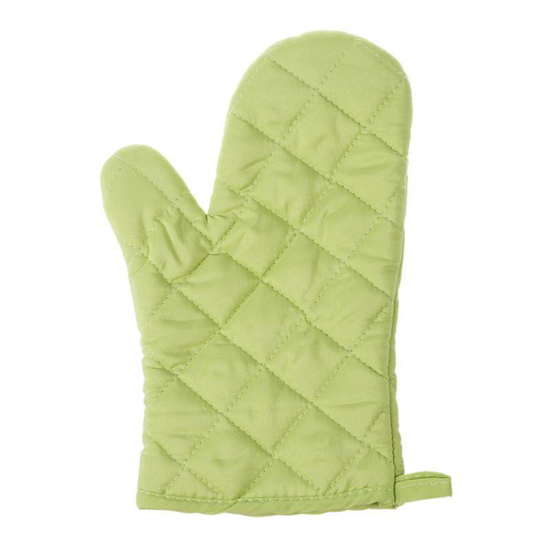 1 pcs algodon proteccion guantes de cocina resistente al calor horno microo M5W7