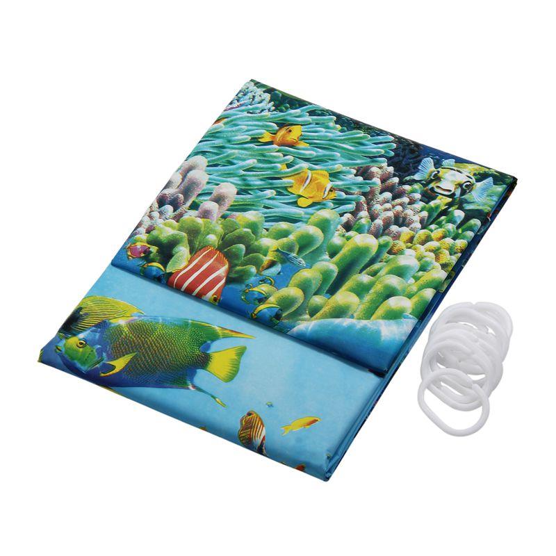 rideau de douche impermeable a l 39 eau de bain tissu rideau. Black Bedroom Furniture Sets. Home Design Ideas