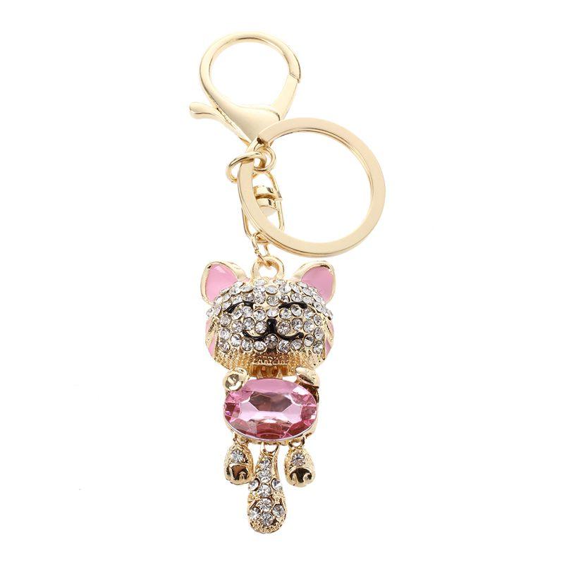 Rhinestone-Crystal-Keyring-Charm-Pendant-Purse-Bag-Key-Ring-Chain-Keychain-H1Q1
