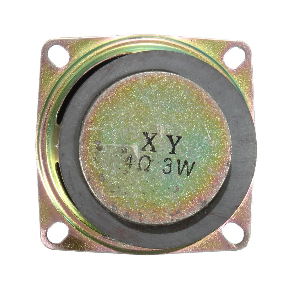 2Pcs 52mm 2 inch 4Ohm 3W Full Range Audio Speaker Stereo Woofer Loudspeaker A4S1