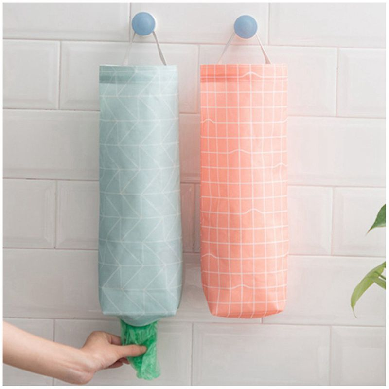 Plastic bag holders