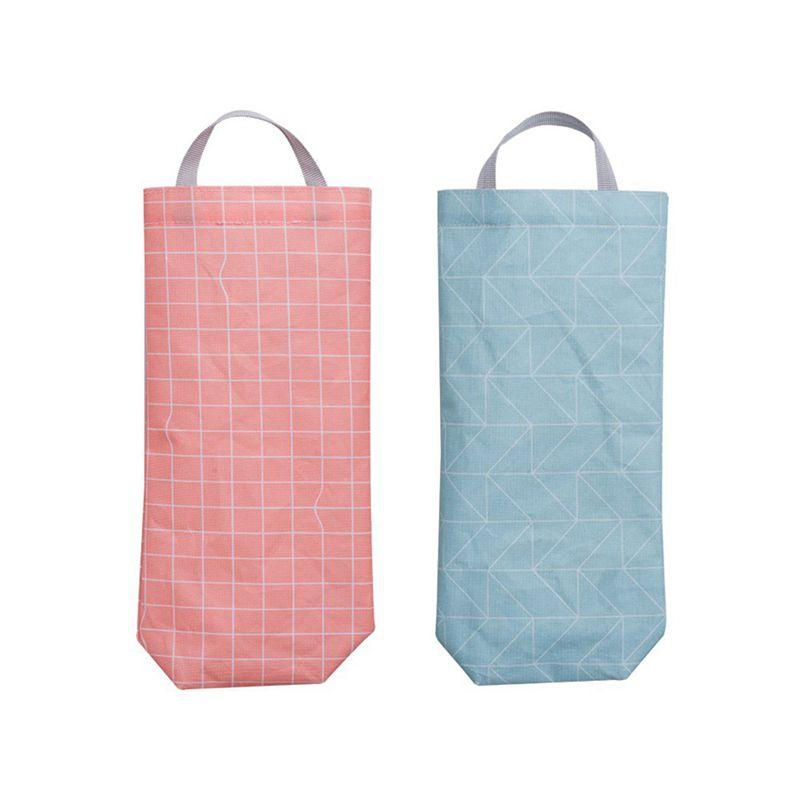 Image Is Loading Set Of 2 Plastic Bag Holder Waterproof Wall