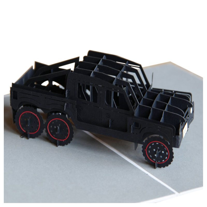 Off-road-vehicle-Pop-up-Card-Card-for-Son-Boy-Girl-Baby-3D-Cards-for-Kids-H-L6E9