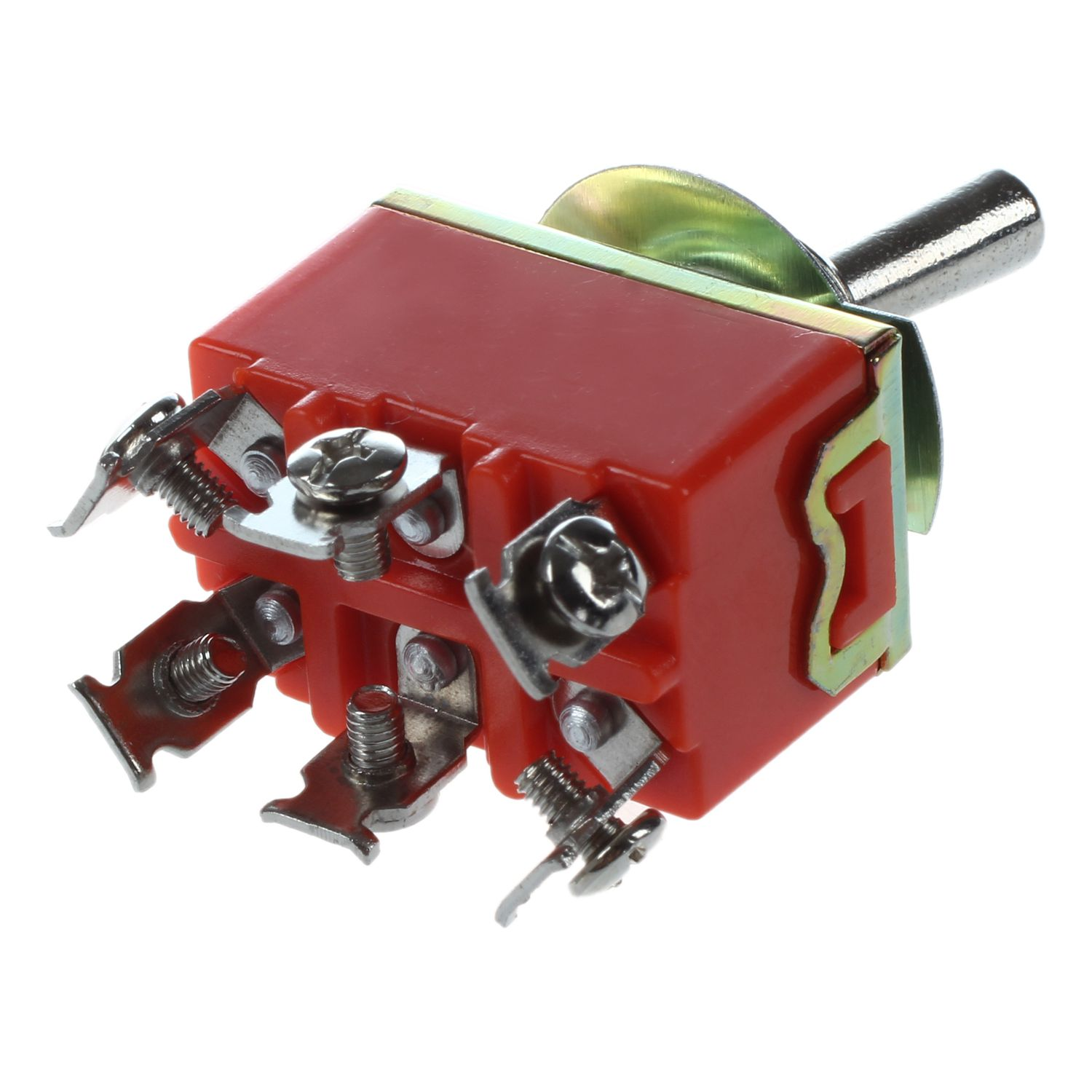 Ac 250v 15a Latching 3 Way On Off Single Pole Double Throw Toggle Red Dpdt Rocker Switch With Light 1 X Note Shooting And Different Displays May Cause The Color Of Item In Picture A Little From Real Thing