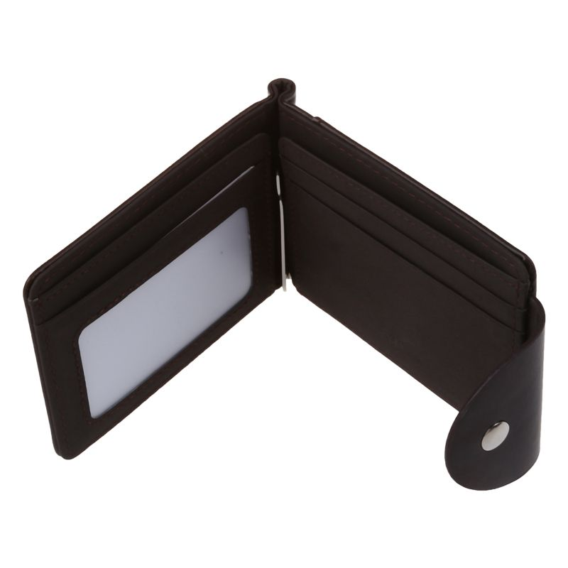 Ultra-thin-Slim-Men-Leather-Money-Clip-Wallets-ID-Credit-Card-Holder-Coin-P-K8D4 thumbnail 5