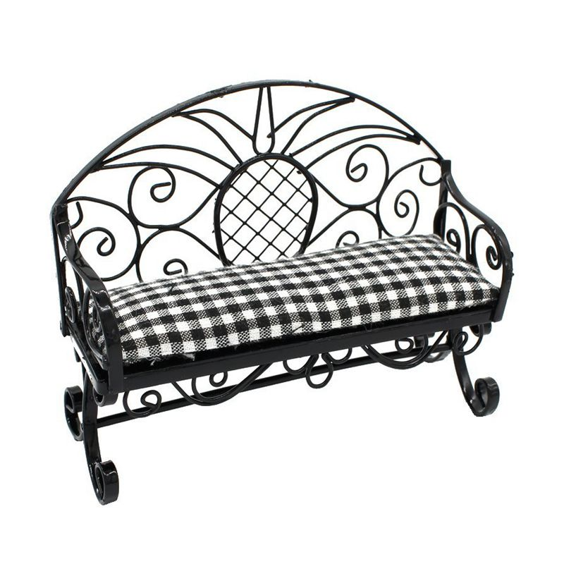 5X-1-12-Dollhouse-Miniature-Furniture-Double-Sofa-Chair-Couple-Sofa-Couch-B-J2H2