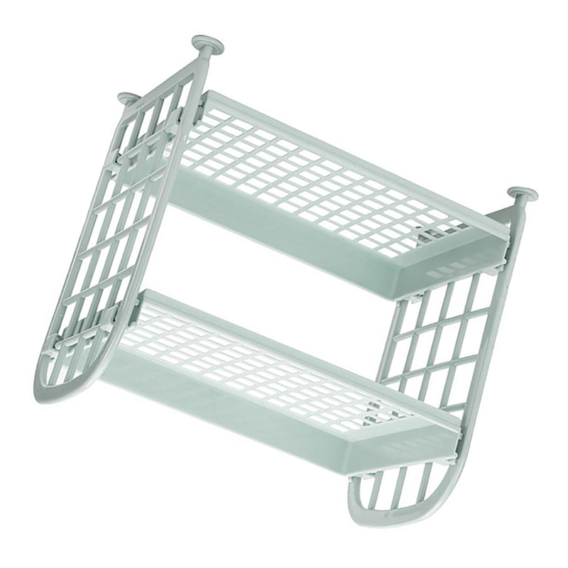 Storage Shelves,Plastic Small Storage Shelves 2 Tier Shelf Shelving,Kitch R9D5
