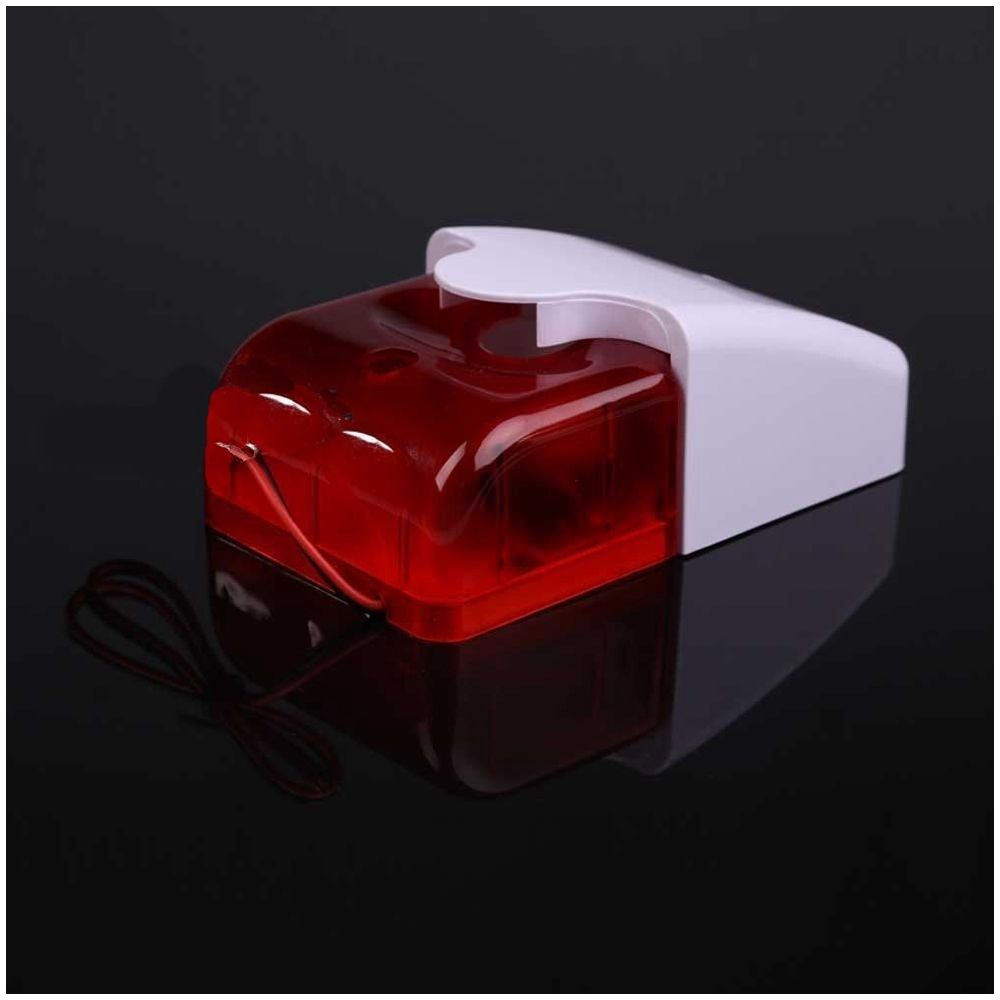 110db 6v 12v Wired Alarm Led Strobe Light Siren Home Security Wiring W6y6