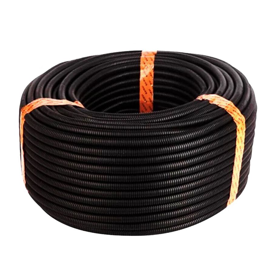3 8inch Split Wire Loom Conduit Polyethylene Tubing Black Color Jl Audio Xd Acs60 6 Gauge Amplifier Amp Installation Kit Speaker Has Become One Of The Most Popular Conduits For Holding Groups Wires In Position And Protecting Against Abrasion