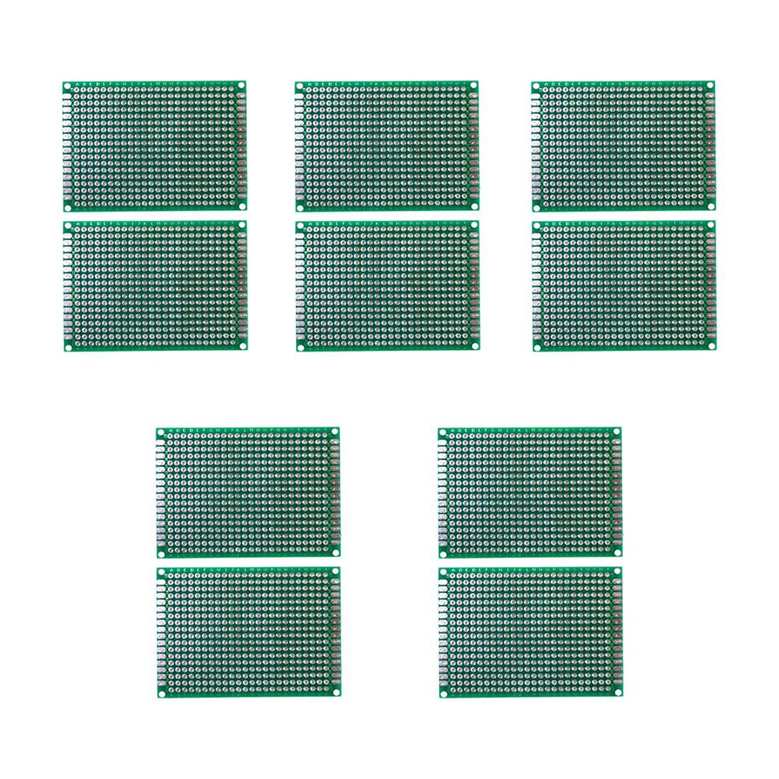 10pcs 5x7 Cm Double Side Diy Prototype Circuit Breadboard Pcb Hot Sale 10 Pcs Universal Printed Board Package Contents X Note Light Shooting And Different Displays May Cause The Color Of