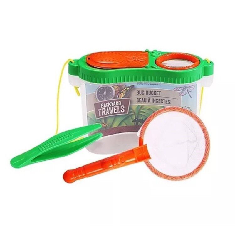 Kids Back Yard Bug Catching Kit Is a Fun Toy, is Brand New and Would Make A  Great Gift! It includes a Tweezers to Grab 'em and a Clear Plastic Keeper  to ... - 3pc Educational Kids Backyard Catching Kit Catch & Store Tweezers