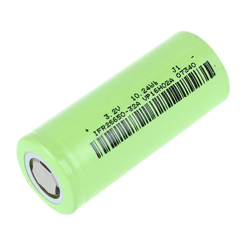 2X-Soshine-4x-IFR-26650-Battery-3-2V-Rechargeable-3200mAh-30A-Flat-Top-LiFePO-2 thumbnail 2