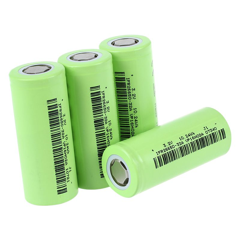 2X-Soshine-4x-IFR-26650-Battery-3-2V-Rechargeable-3200mAh-30A-Flat-Top-LiFePO-2 thumbnail 4