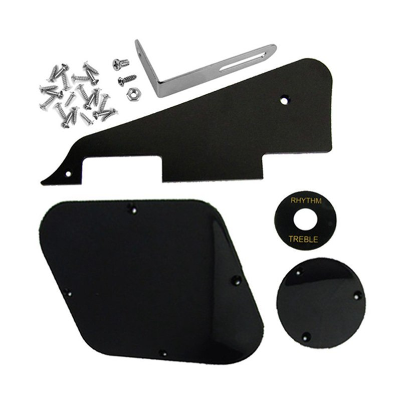 1 Set Pickguard Switch Covers Pickup Selector Plate Bracket for LP Guitar  AB