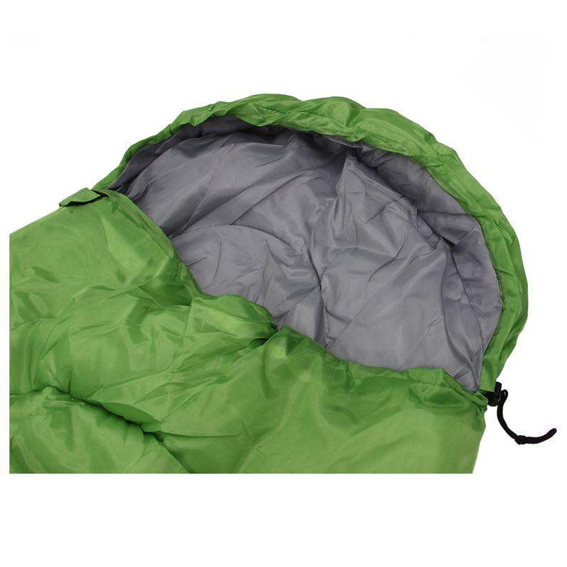 Etui-De-Combinaison-Etanche-De-Camping-Pour-Adulte-Unique-Sac-De-Couchage-D-039-7P8 miniature 6