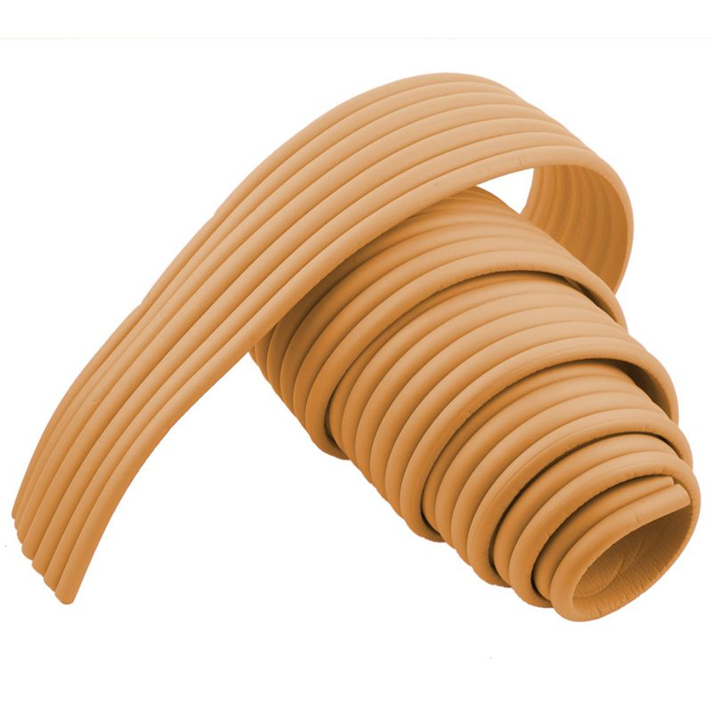 Furniture-Corner-Edge-Safety-Cushion-Guard-Wood-Color-with-Adhesive-Tape-D5P9 thumbnail 3