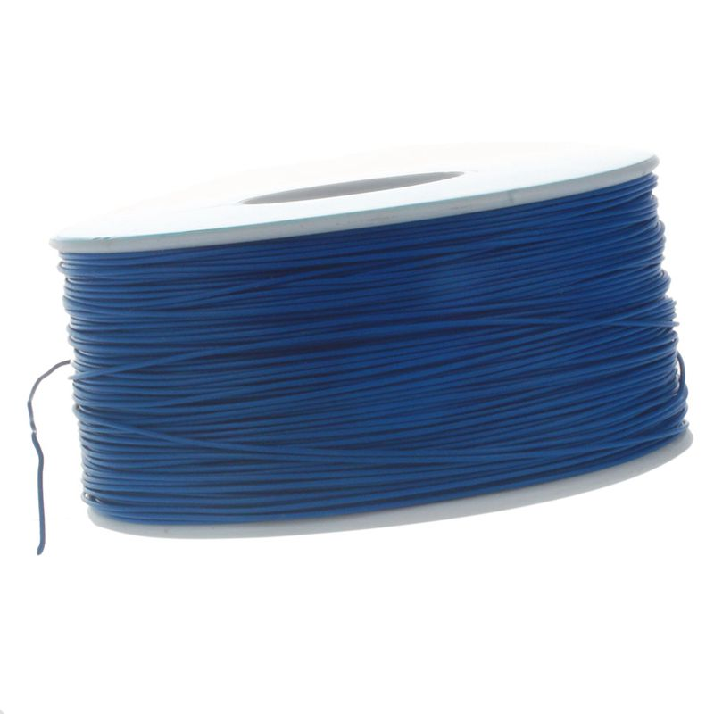 PCB Copper Core Bridge Cable AWG30 Single Conductor Coil 820.2 feet in Length Blue