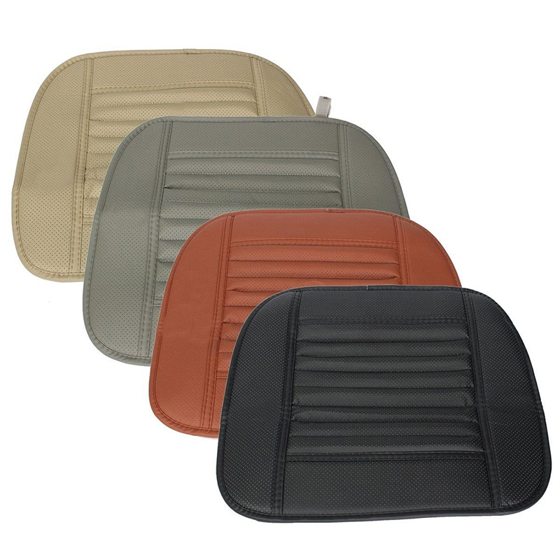 5X(Universal Comfort PU Car Vehicle Seat Pad Cover Office Chairs Cushion E4H7)