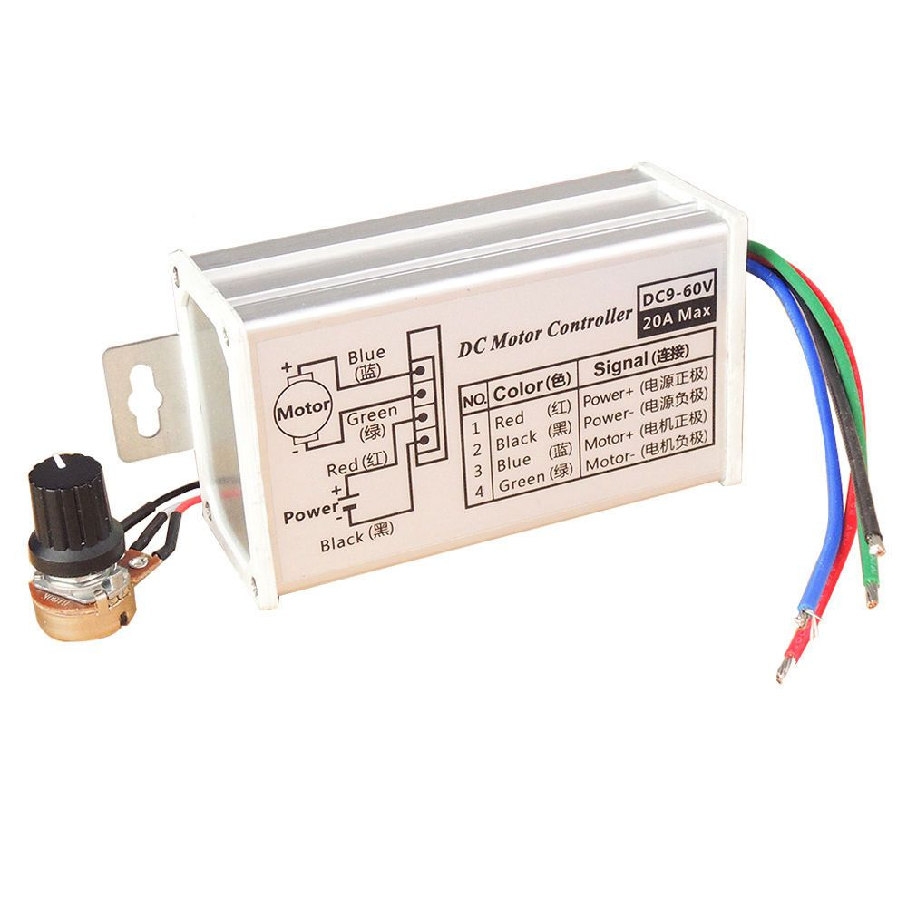 12v Dc Motor Wiring 19 Diagram Images Diagrams Pwm Speed Controller Circuit Using Ic556 Electronic 138096 24v 20a Stepless Variable Control