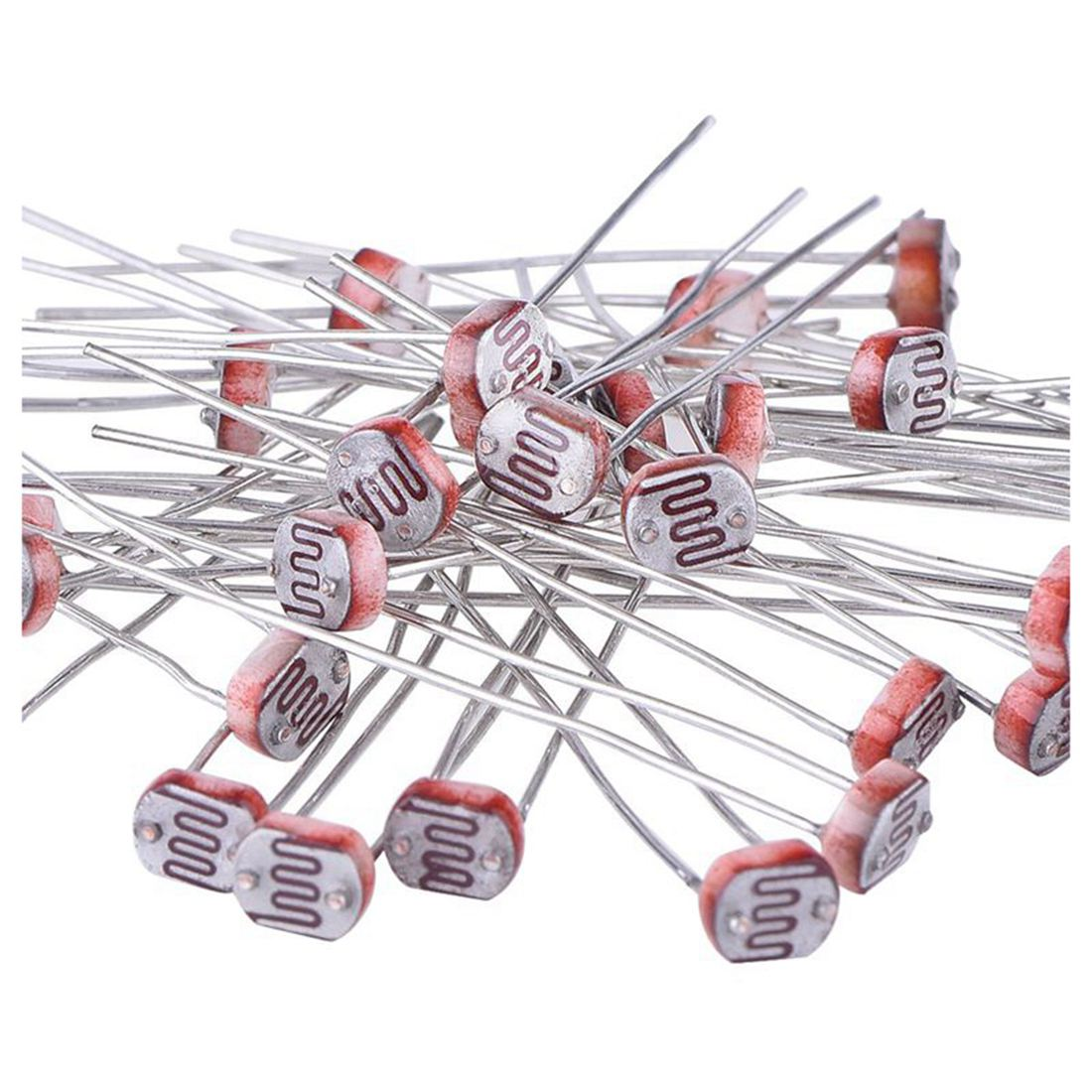 Details About 30 Pieces Photoresistor Photo Light Dependent Resistor 5 Mm Gm5539 G8c2 Symbol The Circuit Package Contents X Note Shooting And Different Displays May Cause Color Of Item In Picture A Little From