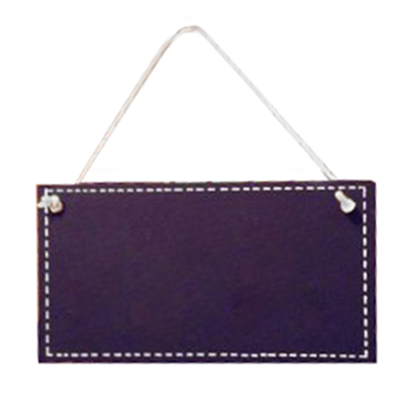 Black-Painted-Memos-Hanging-Rectangle-Home-Decoration-V6W3