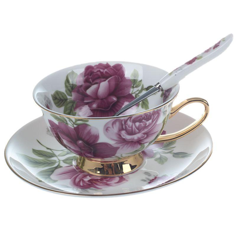 Creative Gift Kitchen Tea Set Bone China Coffee Cup Advanced Ceramic ...